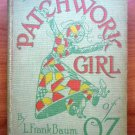 Patchwork Girl of Oz. 1st edition, 1st state ~ 1913