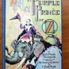 Purple Prince of Oz. 1st edition with 12 color plates (c.1932)