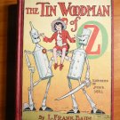 The Tin Woodman of Oz. 1st edition with 12 color plates