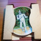 Tin Woodman collectible plate by Knowles CO with certificate of authenticity...