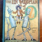 Tin Woodman of Oz. Later printing with 12 color plates