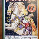 Wishing Horse of Oz. 1st edition with 12 color plates (c.1935)