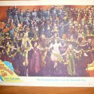 WIZARD OF OZ JUDY GARLAND 1950'S ORIGINAL UK LOBBY CARD