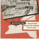 City of Rochester New York 1949 Financial Brochure