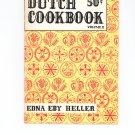 Dutch Cookbook Volume II Edna Eby Heller