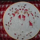 The Annunciation Lenox 1995 Christmas Collector Plate