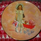 On Her Way by George Malick Collector Plate Lynell Studios