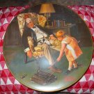 Norman Rockwell Grandpa's Guardian Collector Plate by River Shore Ltd.