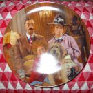 Annie, Lily & Rooster Collector Plate by Knowles 1986