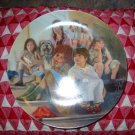 Annie and The Orphans by William Chambers Collector Plate For Knowles 1984