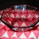 Vintage Amethyst Dish / Bowl Very Nice