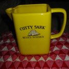 Advertising Cutty Sark' Scots Whiskey Pitcher Very Sharp Piece