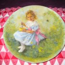Little Miss Muffet by John Mc Clelland Collector Plate Mother Goose Series 1981