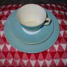 Vintage 3 Piece Cup and Saucer Bayreuth SPM Bavaria Nice Piece