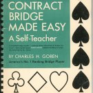 Vintage Contract Bridge Made Easy by Charles H. Gorden  Book