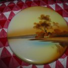 Noritake Hand Painted Trivet With Wonderful Country Scene