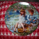 Patience by Sandra Kuck Collector Plate 1991