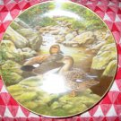 The Gadwall by Bart Jerner Collector Plate 1988