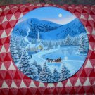 Silent Night by Jean Sias Collector Plate 1990