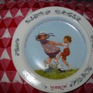 March by Sarah Seilwell Weber Collector Plate 1986