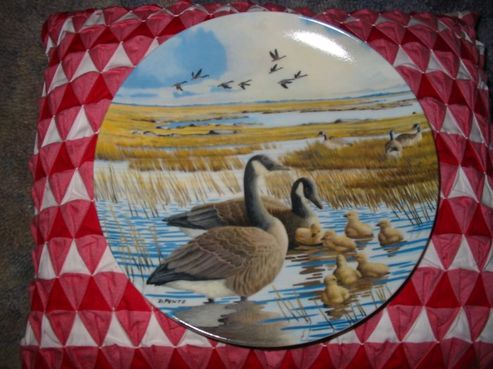 The Family by Donald Pentz Collector Plate 1987