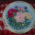 The Peony Garden by Lena Liu Collector Plate 1996 Stunning Piece