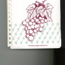 Thru The Grapevine Finger Lakes Region NY Cookbook by Junior League of Elmira