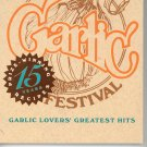 Gilroy Garlic Festival Cookbook