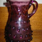 Awesome Amethyst Hobnail Pitcher Very Pretty