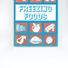 Vintage Freezing Foods by Rochester Gas And Electric