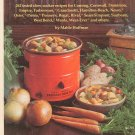 Crockery Cookery Cookbook By Mable Hoffman