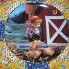 Farm Boy Collector Plate M.I. Hummel Gentle Friends What A BEAUTY Shipping Special