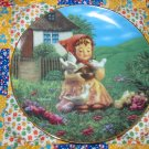 Cinderella Collector Plate M.I. Hummel Gentle Friends What A BEAUTY Shipping Special