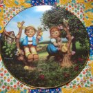 Apple Tree Boy & Girl Collector Plate M.I. Hummel Little Companions What A BEAUTY Shipping Special