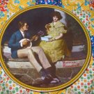 Pondering On The Porch From Rockwells Rediscovered Women Series Collector Plate  Shipping Special