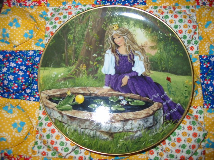 Frog King Classic Fairy Tales G. Neubacher Collector Plate  Shipping Special