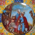 We Three Kings by Sandra Kuck  Collector Plate Limited Edition Shipping Special