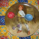 Johnny The Strong Man Collector Plate by John McClelland Shipping Special