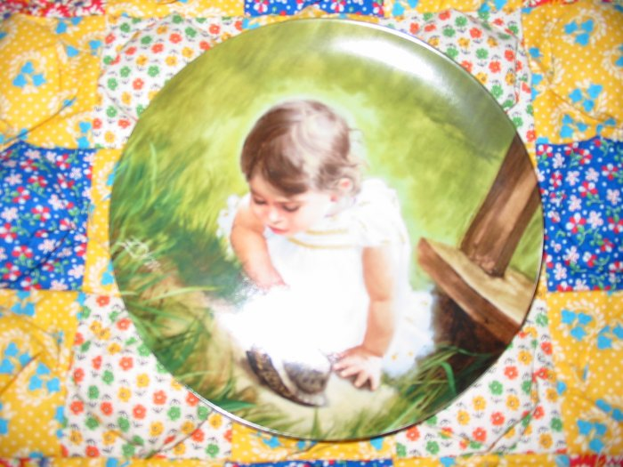 Backyard Discovery Collector Plate by Donald Zolan Shipping Special