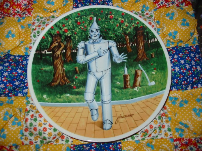 If I Only Had A Heart Wizard of Oz by James Mickland Collector Plate Shipping Special