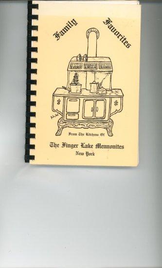 Family Favorites Cookbook by The Finger Lakes Mennonites New York