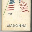 1961 Madonna Year Book Yearbook Niagara Falls New York