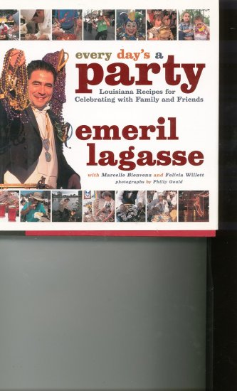 Every Day's A Party by Emeril Lagasse Cookbook