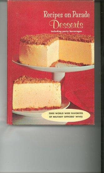 Recipes On Parade Desserts Cookbook