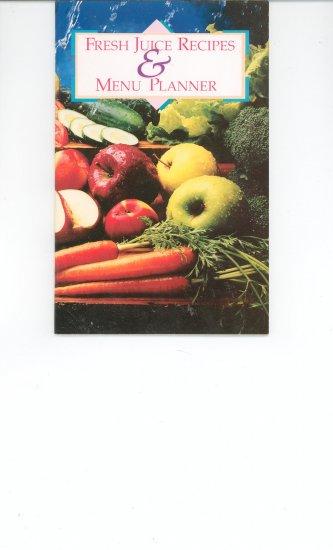 Fresh Juice Recipes & Menu Planner by Juiceman