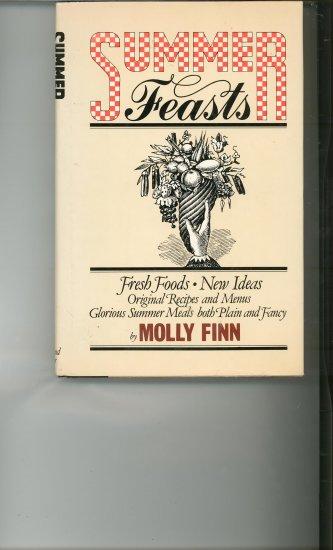 Summer Feasts Cookbook by Molly Finn