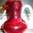 Stunning Ruby Red Pitcher by Carriage House Glass Handcrafted by Ronald Lancaster