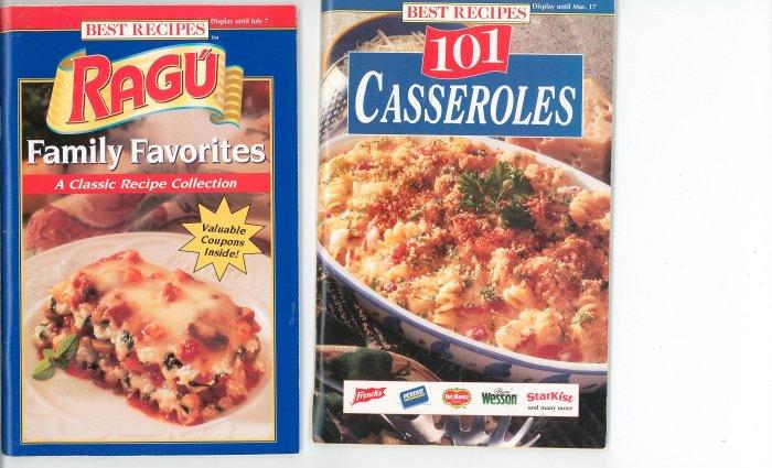 Best Recipes Lot Of 2 Recipe Books Cookbook