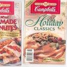 Campbells Lot Of 2 Recipe Books Cookbook Campbell's