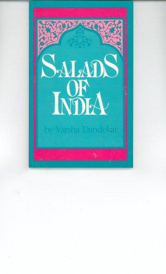 Salads Of India Cookbook by Varsha Dandekar